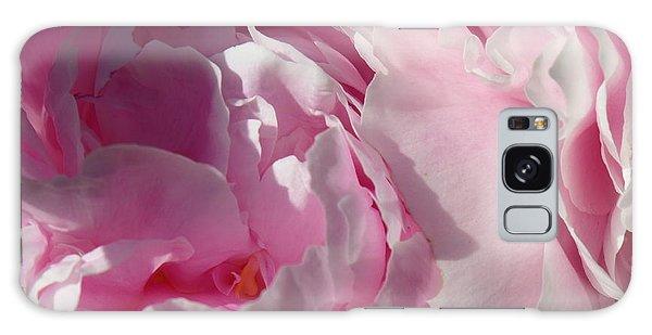 Pink Peonies Galaxy Case