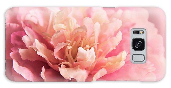 Pink Peony Galaxy Case by Elizabeth Budd