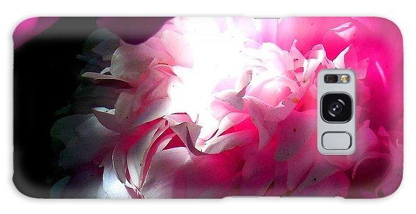 Pink Peony Galaxy Case by Karen Molenaar Terrell
