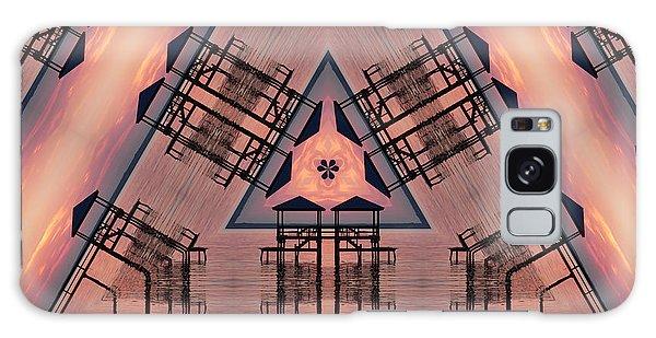 Pink Pier Kaleidoscope One Galaxy Case