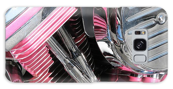 Pink Power Galaxy Case by Samuel Sheats