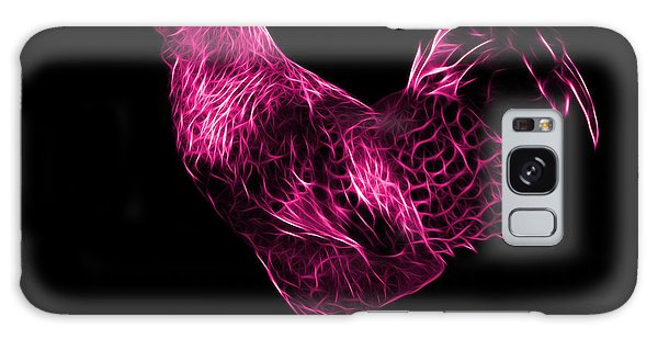 Pink Rooster 3186 F Galaxy Case by James Ahn