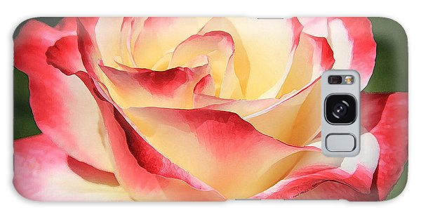 Pink Rose Galaxy Case by Athala Carole Bruckner