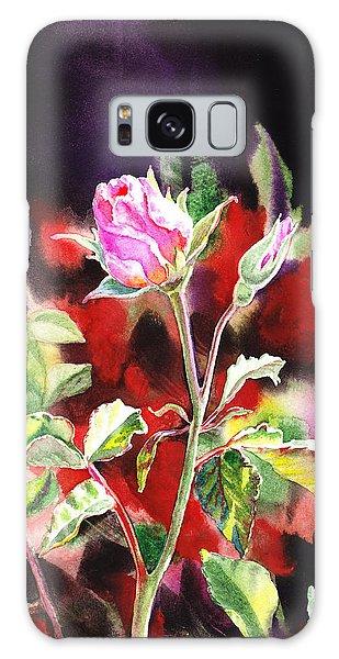 Pollen Galaxy Case - Pink Rose Bloom by Irina Sztukowski