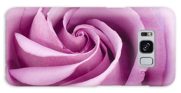 Pink Rose Folded To Perfection Galaxy Case