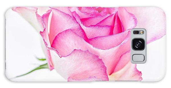 Pink Rose Glory Galaxy Case