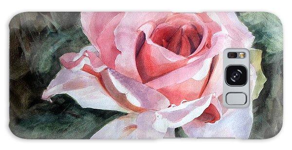 Pink Rose Greg Galaxy Case
