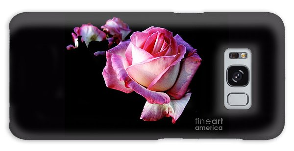 Pink Rose  Galaxy Case by Leanne Seymour