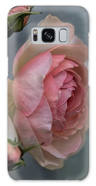 Pink Rose Galaxy Case by Leif Sohlman