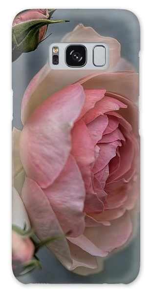 Galaxy Case featuring the photograph Pink Rose by Leif Sohlman