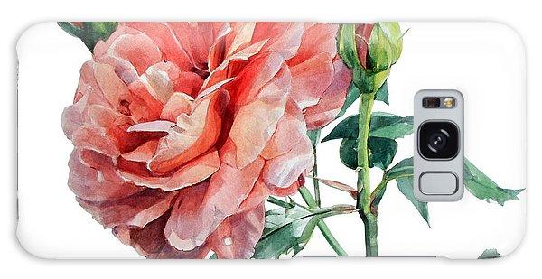 Pink Rose Odette  Galaxy Case