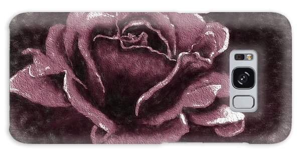 Pink Rose Galaxy Case by Terry Cork