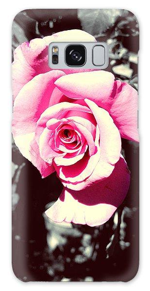 Pink Rosetta  Galaxy Case