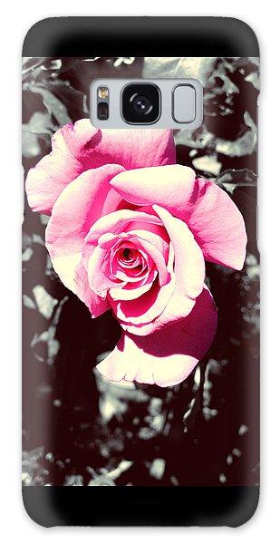Pink Rosetta  Galaxy Case by Sherry Flaker
