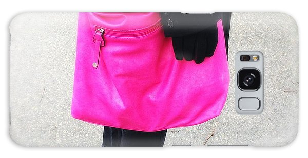 Pink Shoulder Bag Galaxy Case