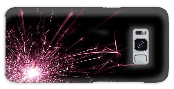 Fireworks Galaxy Case - Pink Sparkle by Samuel Whitton