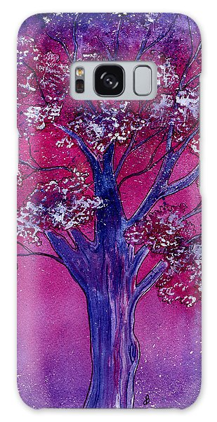 Pink Spring Awakening Galaxy Case
