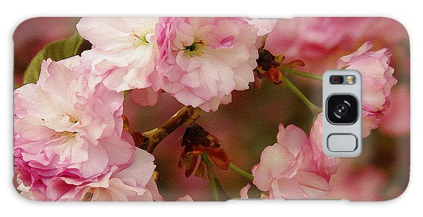 Pink Spring Blossoms Galaxy Case