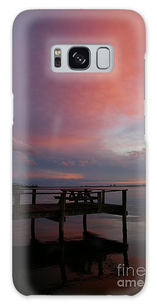 Pink Sunset Galaxy Case by Tannis  Baldwin