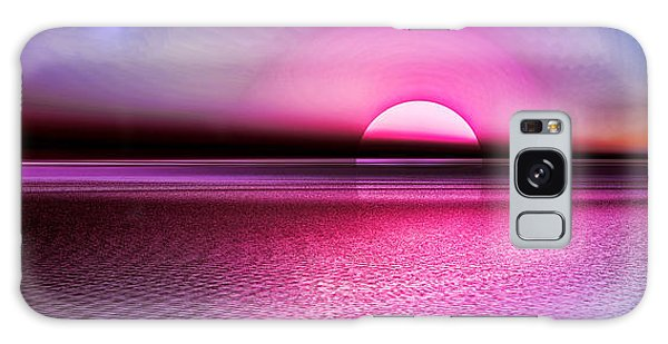 Pink Sunset Galaxy Case by Tyler Robbins
