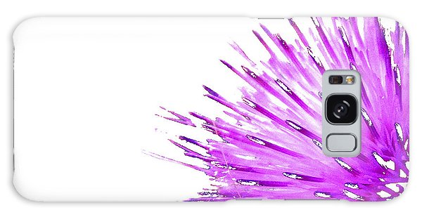 Pink Thistle  Galaxy Case