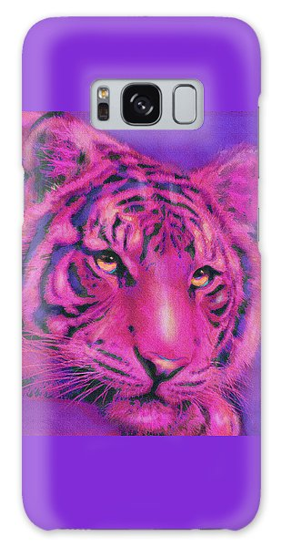 Pink Tiger Galaxy Case by Jane Schnetlage