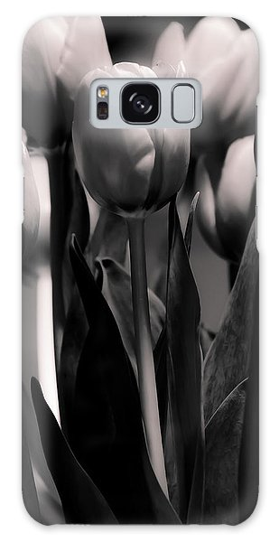 Pink Toned Tulips Galaxy Case by Craig Perry-Ollila