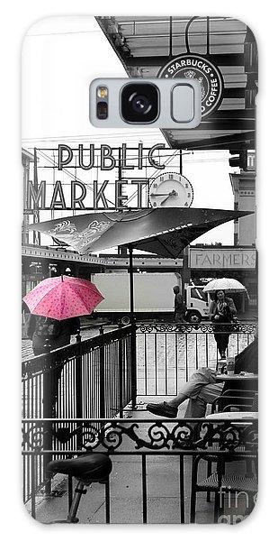 Pink Umbrella Galaxy Case