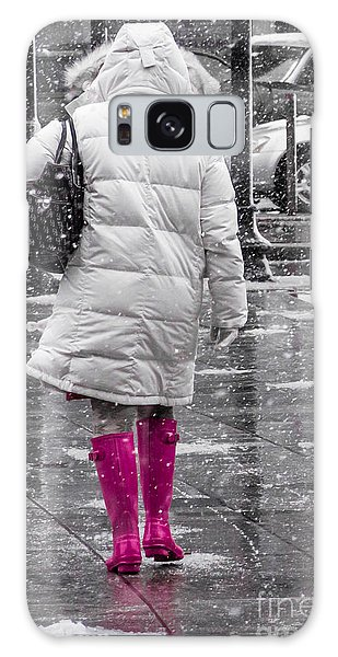 Pink Walk Galaxy Case