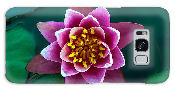 Rose Waterlily Galaxy Case