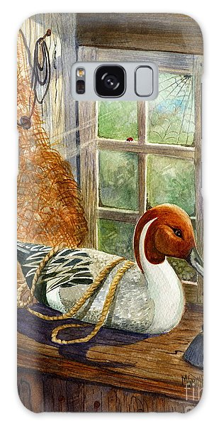 Pintail Duck Decoy Galaxy Case