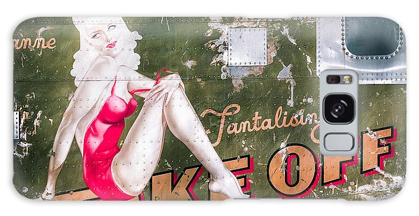 Pinup Girl - Aircraft Nose Art - Take Off Anne Galaxy Case