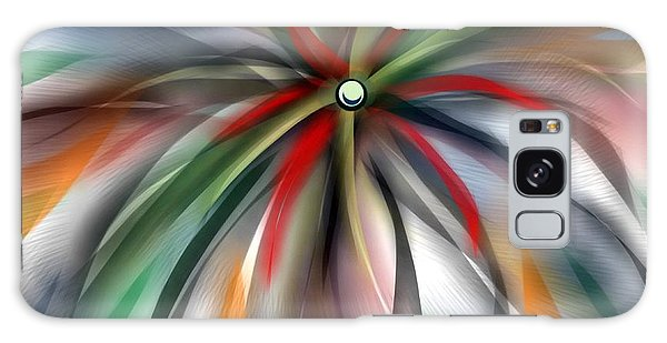 Pinwheel Abstract Galaxy Case by Ron Grafe