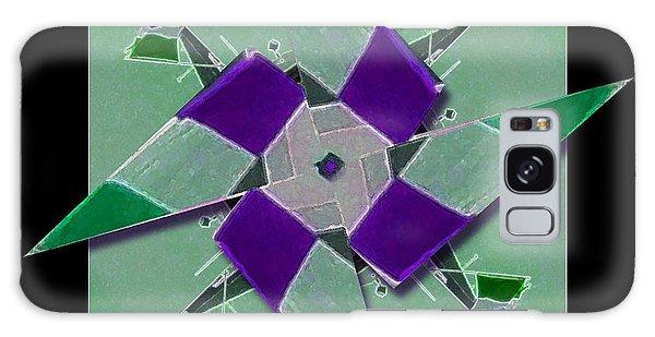 Pinwheel Ready To Spin Galaxy Case by Barbara R MacPhail