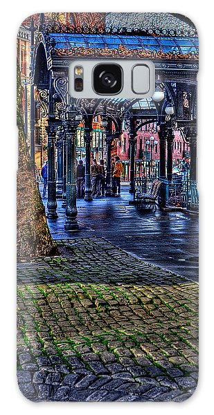 Pioneer Square In Seattle Galaxy Case