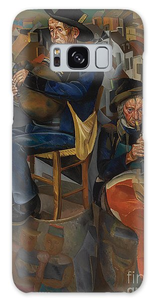 Russian Impressionism Galaxy Case - Pipe Players by Celestial Images