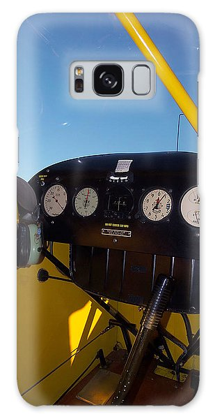 Piper Cub Dash Panel Galaxy Case
