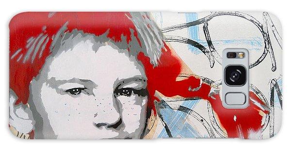 Pippi Longstocking  Galaxy Case by Juergen Weiss