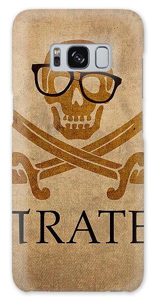 Nerd Galaxy Case - Pirate Math Nerd Humor Poster Art by Design Turnpike