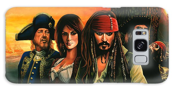 Tide Galaxy Case - Pirates Of The Caribbean  by Paul Meijering