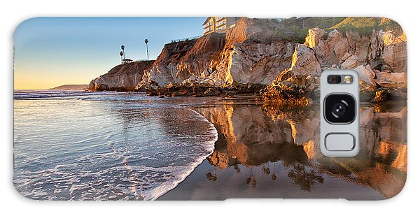 Pismo Cliffs And Reflections Galaxy Case