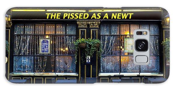 Pissed As A Newt Pub  Galaxy Case