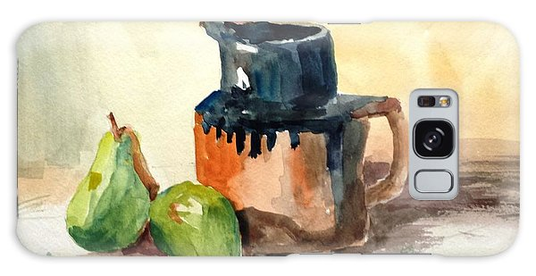 Pitcher And Pears Galaxy Case by Larry Hamilton