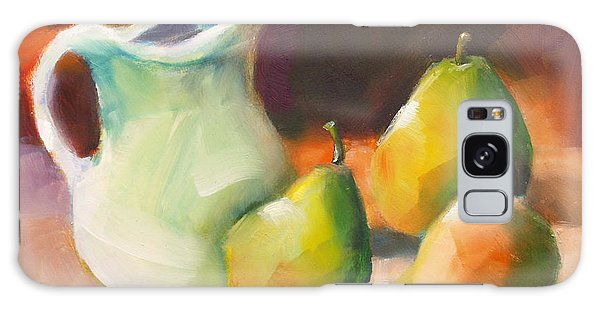 Pitcher And Pears Galaxy Case by Michelle Abrams