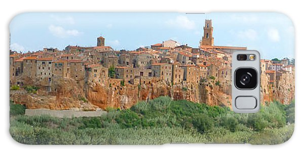 Pitigliano Panorama Galaxy Case