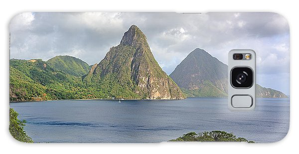 Piton Mountains - Saint Lucia Galaxy Case