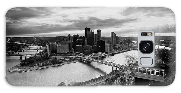 Pittsburgh Skyline1 Galaxy Case