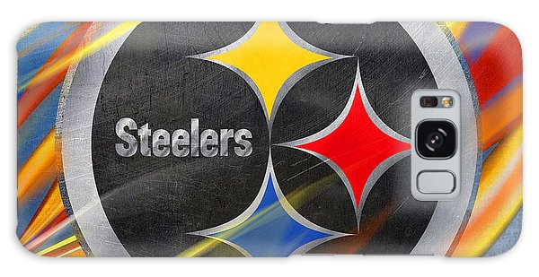 Day Galaxy Case - Pittsburgh Steelers Football by Tony Rubino