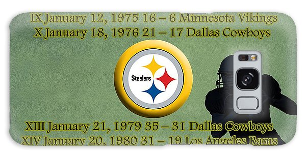 Pittsburgh Steelers Super Bowl Wins Galaxy Case