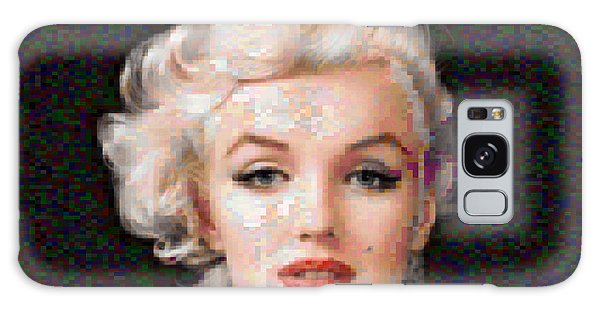 Pixelated Marilyn Galaxy Case